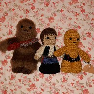 Hand Crocheted Star Wars Stuffies